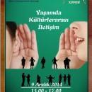 Yaşamda Kültürlerarası İletişim Semineri – Ankara – 9 Aralık 2014