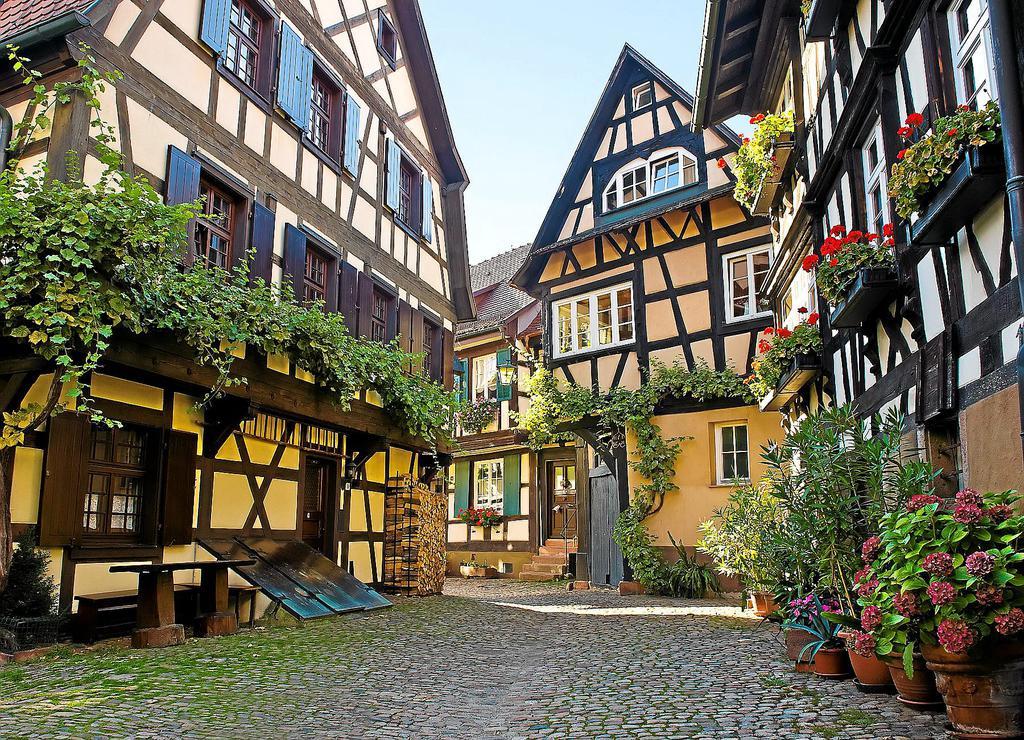 Фото деревенских домов в германии