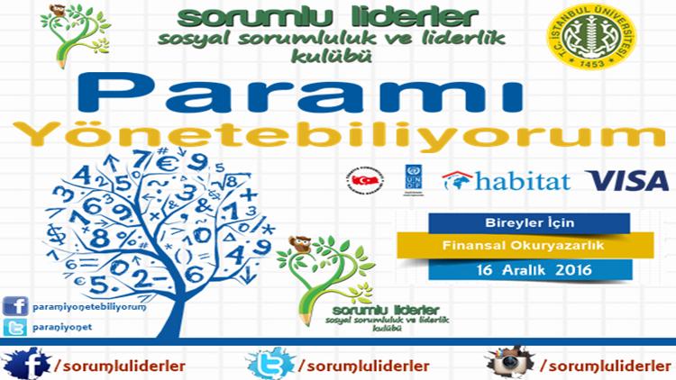 İstanbul Üniversitesi'nde Finansal Okuryazarlık Eğitimi!