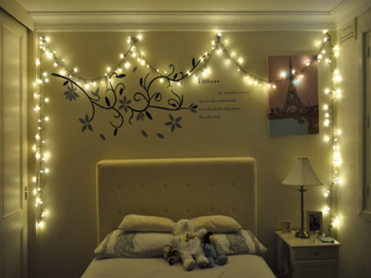 delighful bedroom ideas christmas lights room pinterest for design
