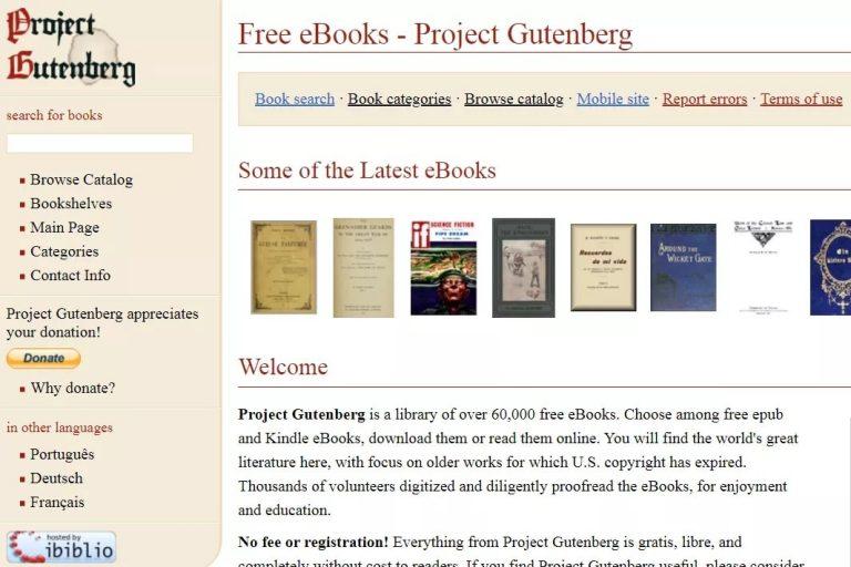 project-gutenberg-ingilizce